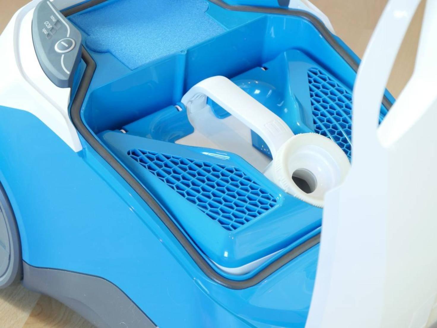 Der Thomas Perfect Air ist ein beutelloser Bodenstaubsauger mit Aqua-Filter.