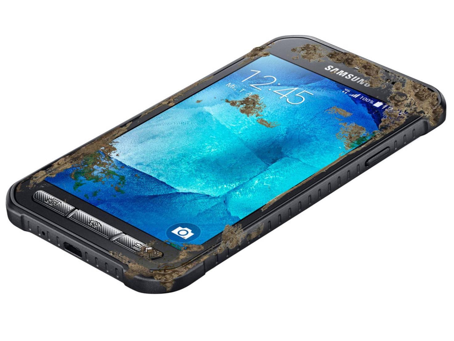 Das Samsung Galaxy Xcover 3: Für den harten Einsatz auf der Baustelle gedacht.