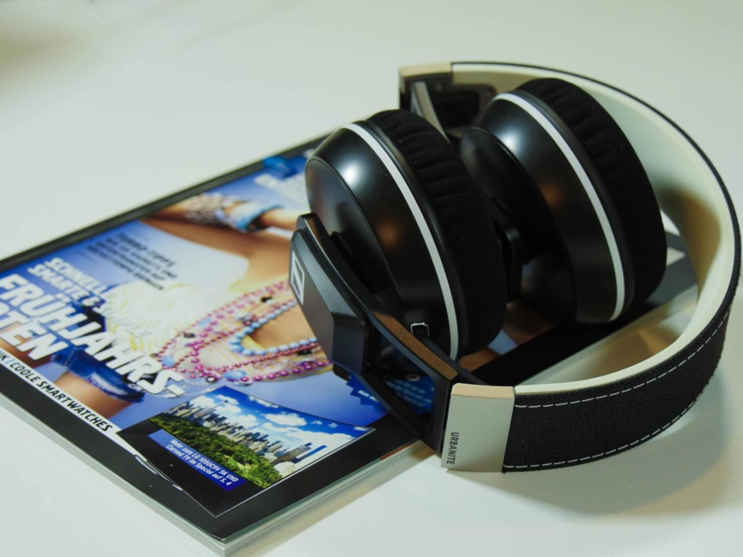 Für den Transport kann der Urbanite XL Wireless zusammengeklappt werden.