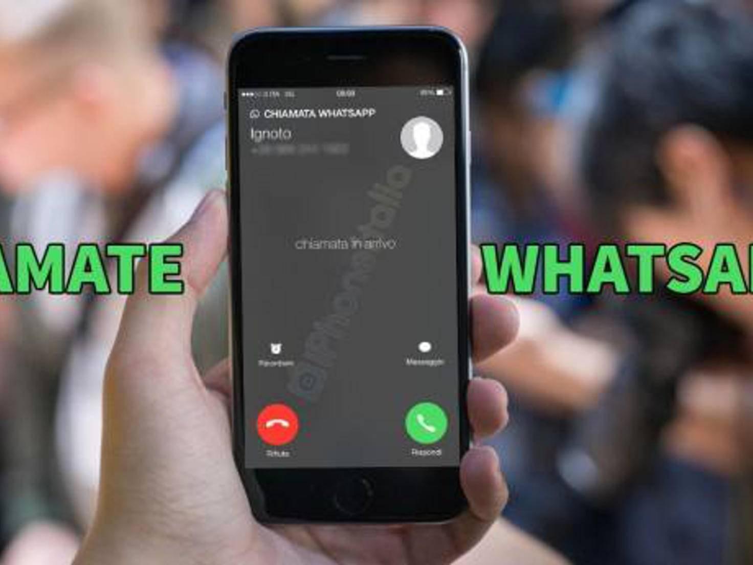 WhatsApp-Telefonie auf dem iPhone