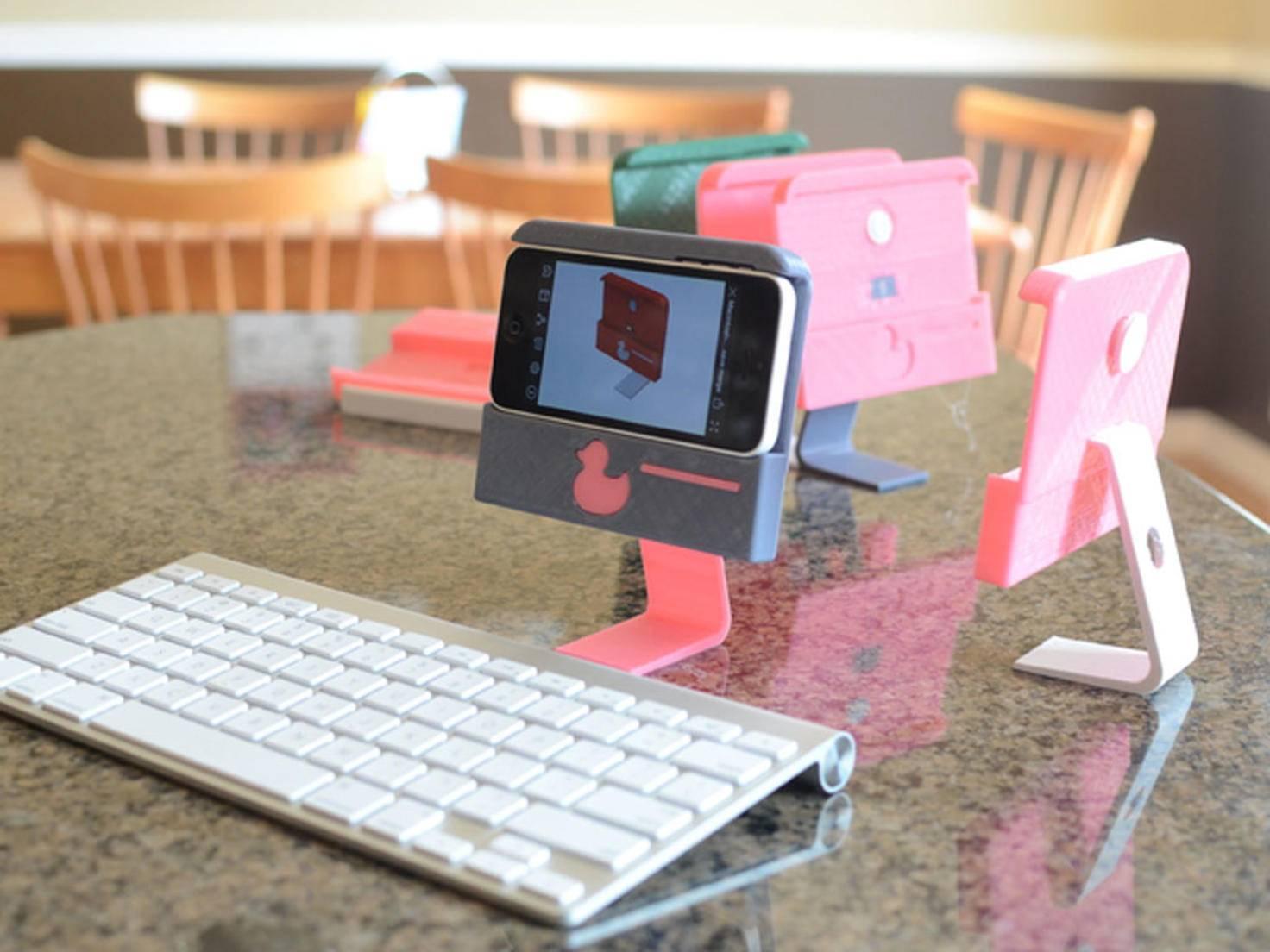 3D-Drucker: iPhone-Ständer