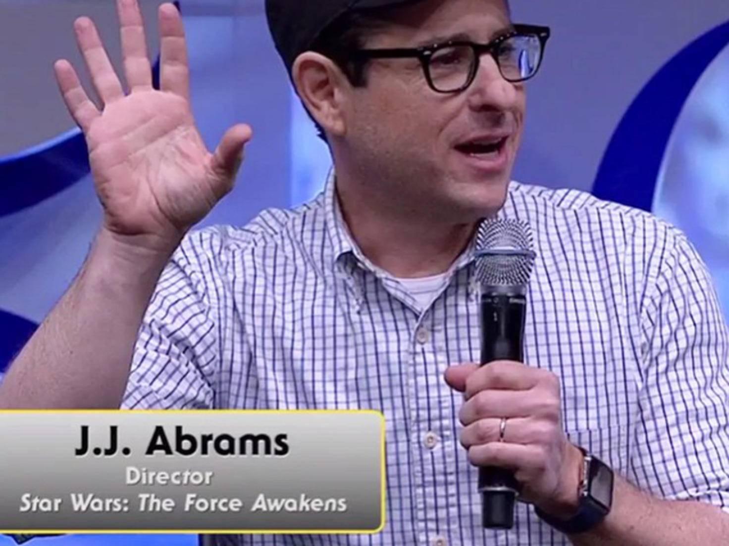 J.J. Abrams mit Apple Watch