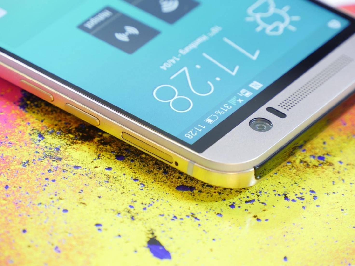 Auch beim HTC One M9 lässt sich der Speicher via Micro-SD-Karte erweitern.