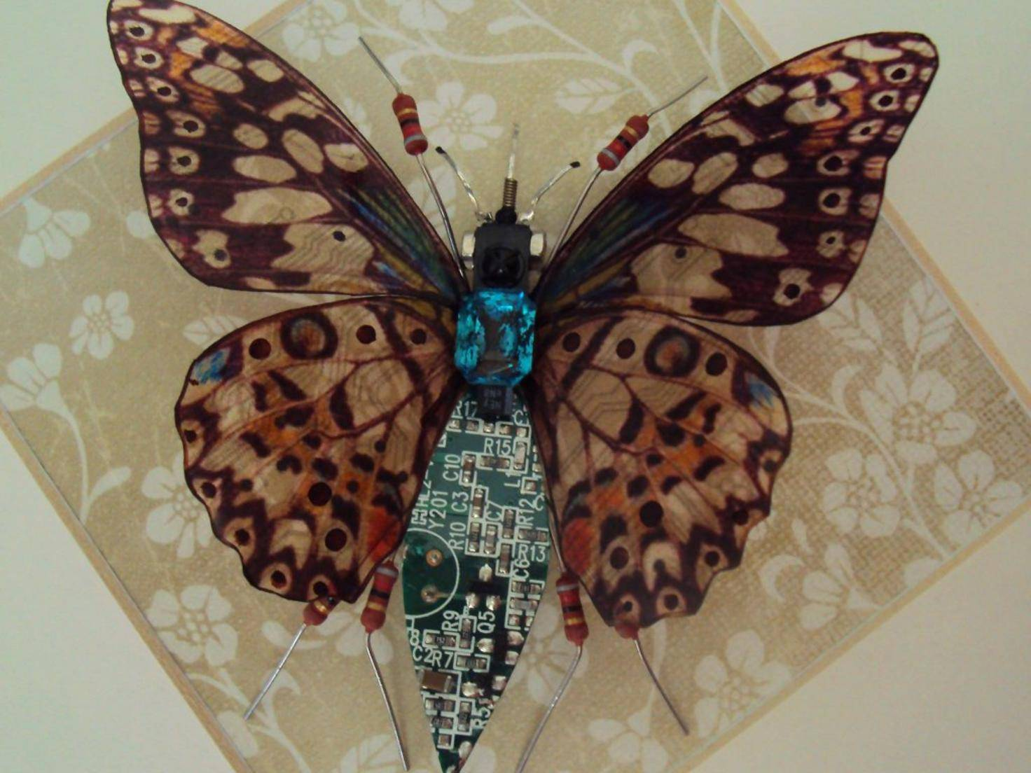 Eine der Kreationen von Julie Alice Chappell.