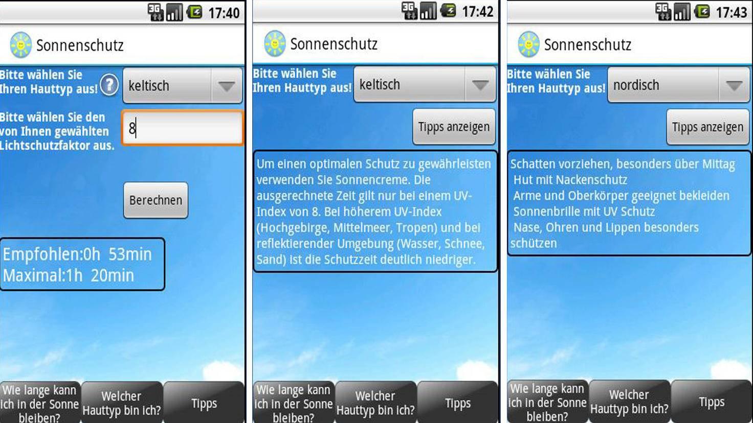 Sonnenschutz Free-Google Playstore-SmklslDev