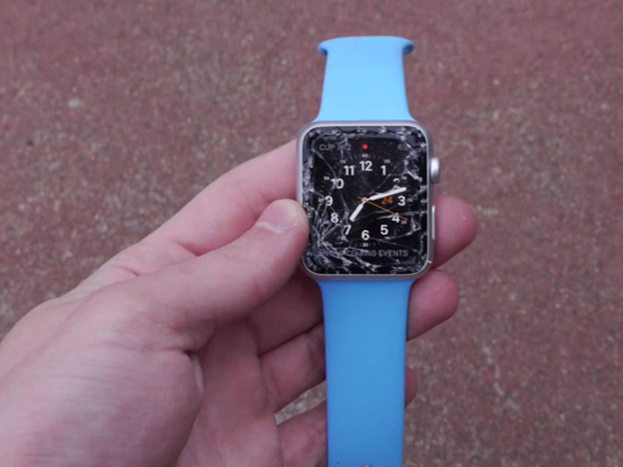 Kaputte Apple Watch