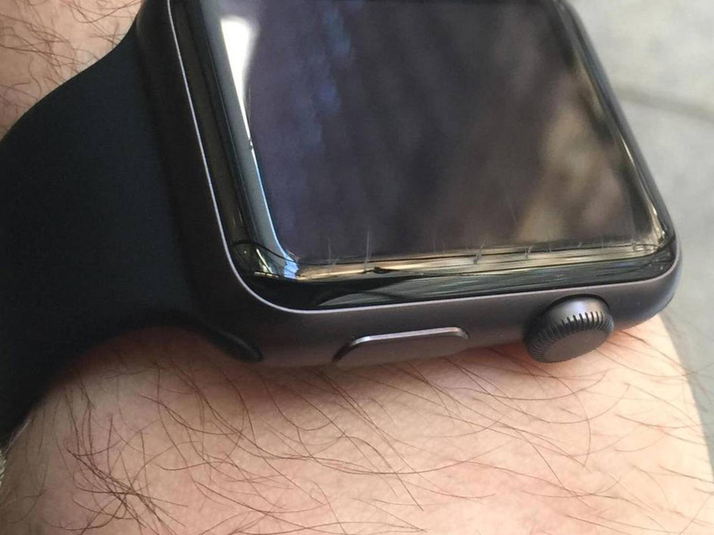 Kaputte Apple Watch