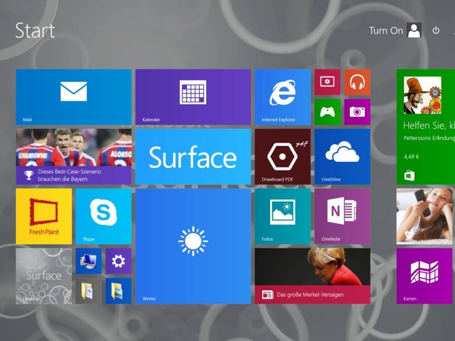 ...sondern ein vollwertiges Windows 8.1.