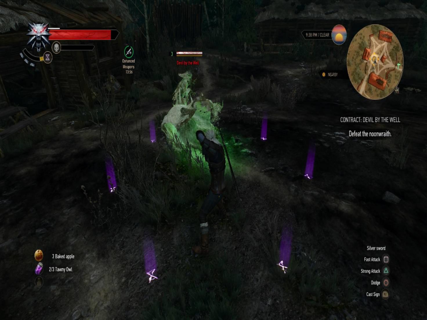 Manche Monster wie dieser Geist erfordern spezielle Strategien.