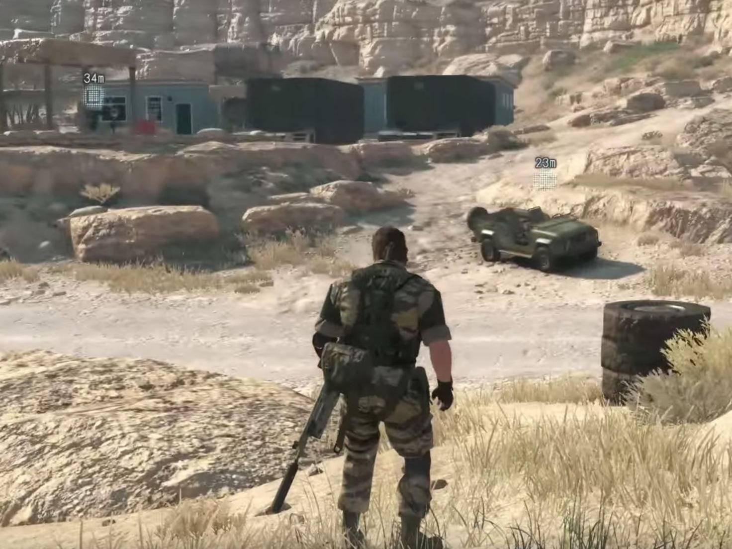 """""""Metal Gear Solid 5"""" soll erstmals ein Open-World-Konzept bieten."""