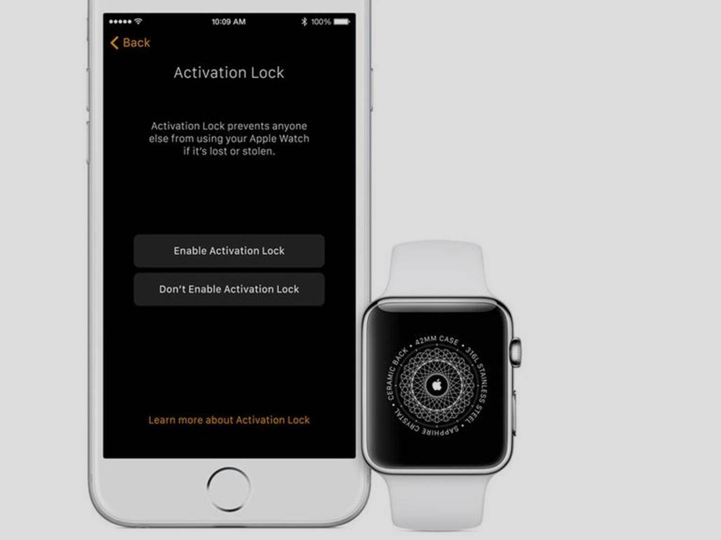Aktivierungssperre bei der Apple Watch