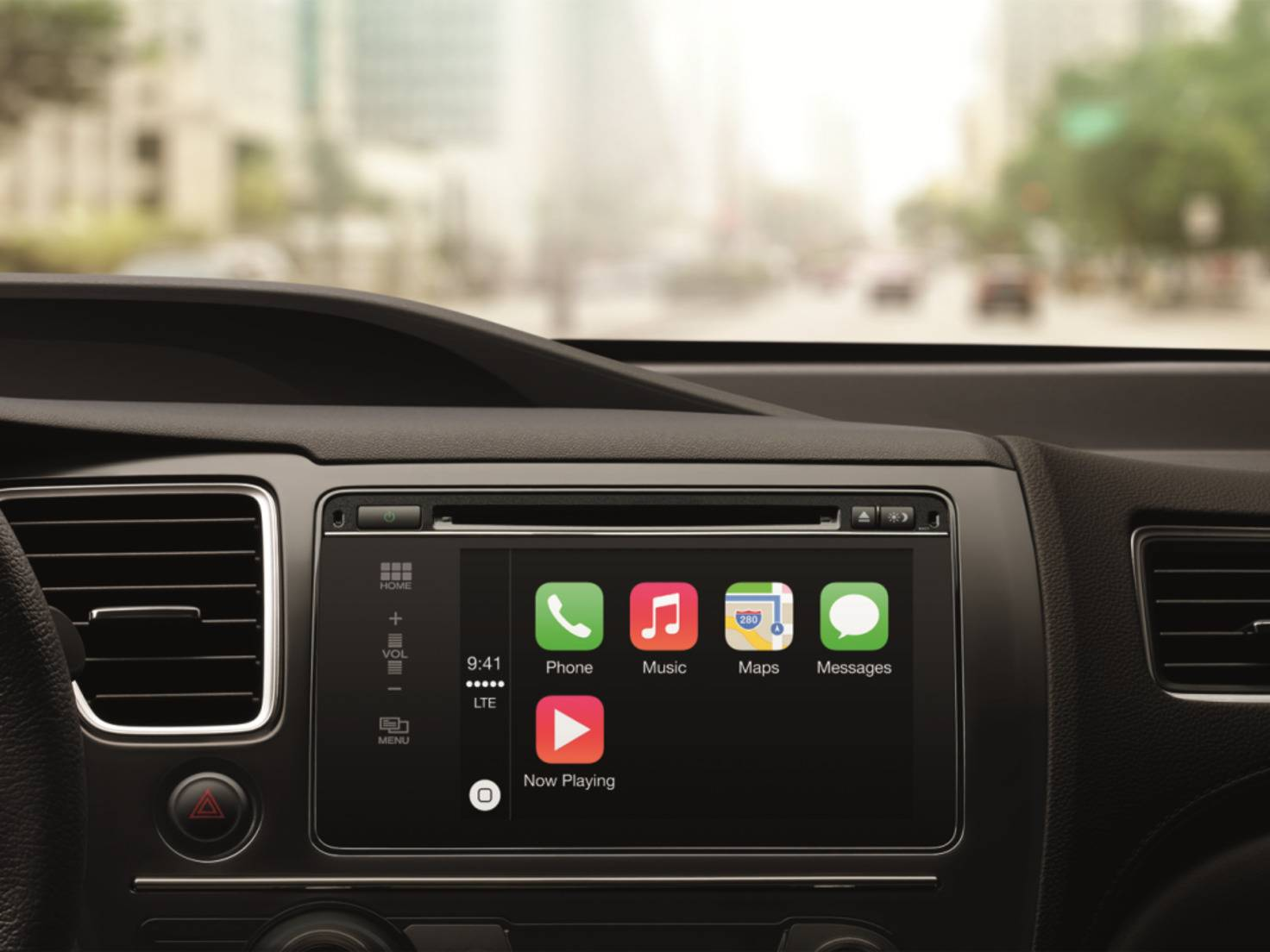 carplay menü