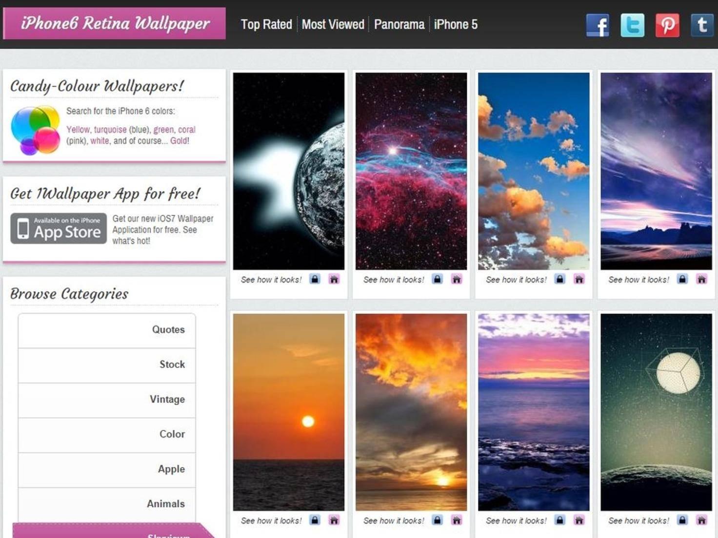 iPhone 6 Retina Wallpaper