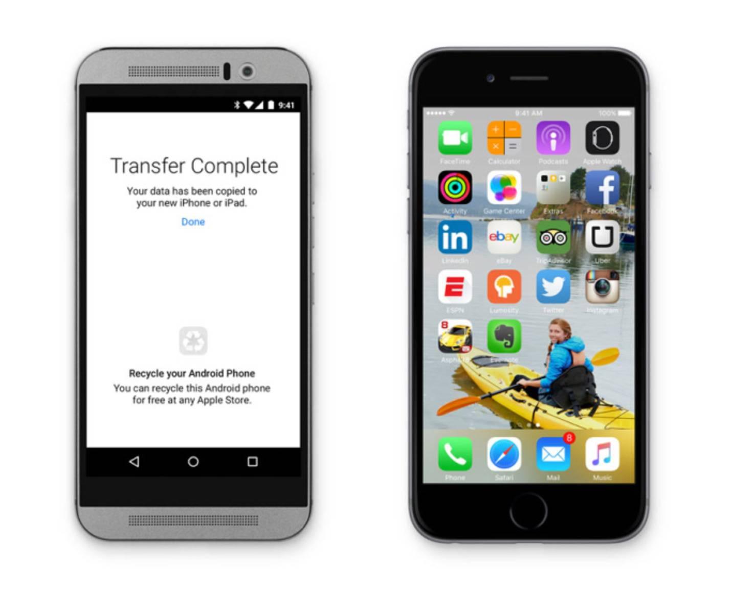 "Apple-App ""Move to iOS"""