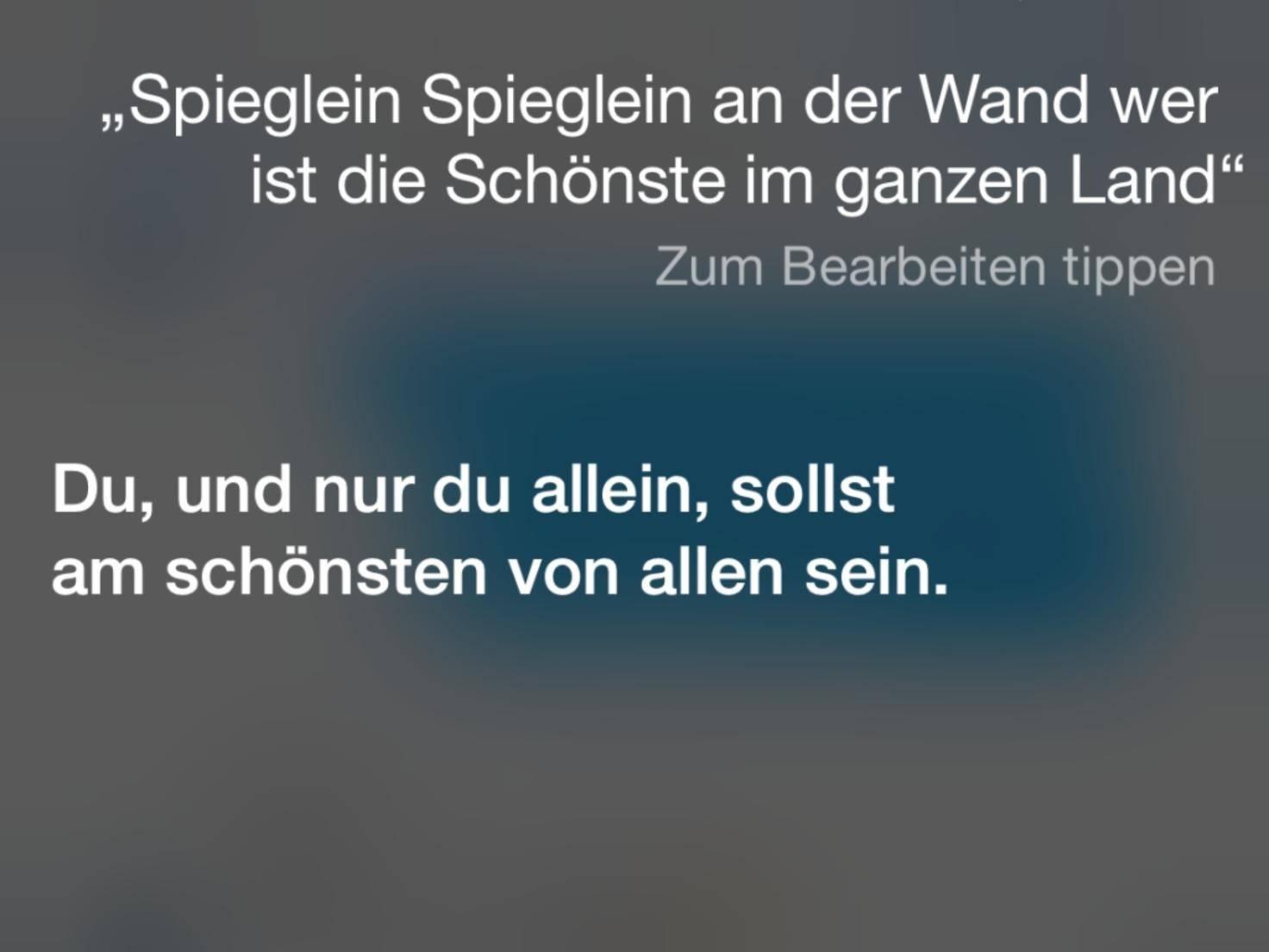 Siri-Sprüche