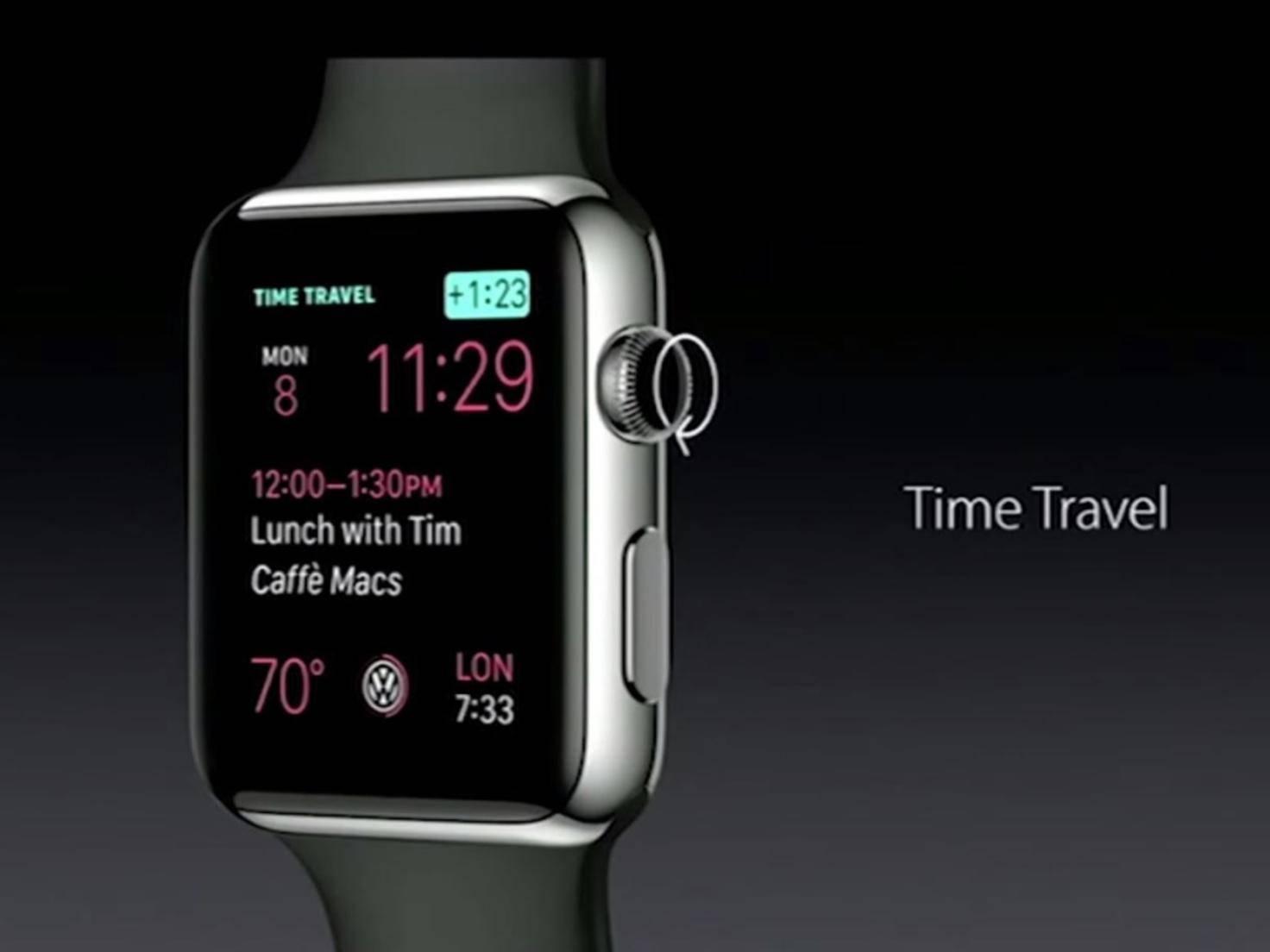 Time Travel bei watchOS 2