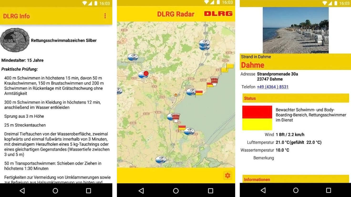 DLRG Info App-Google Play Store-DLRG Arbeitskreis Internet