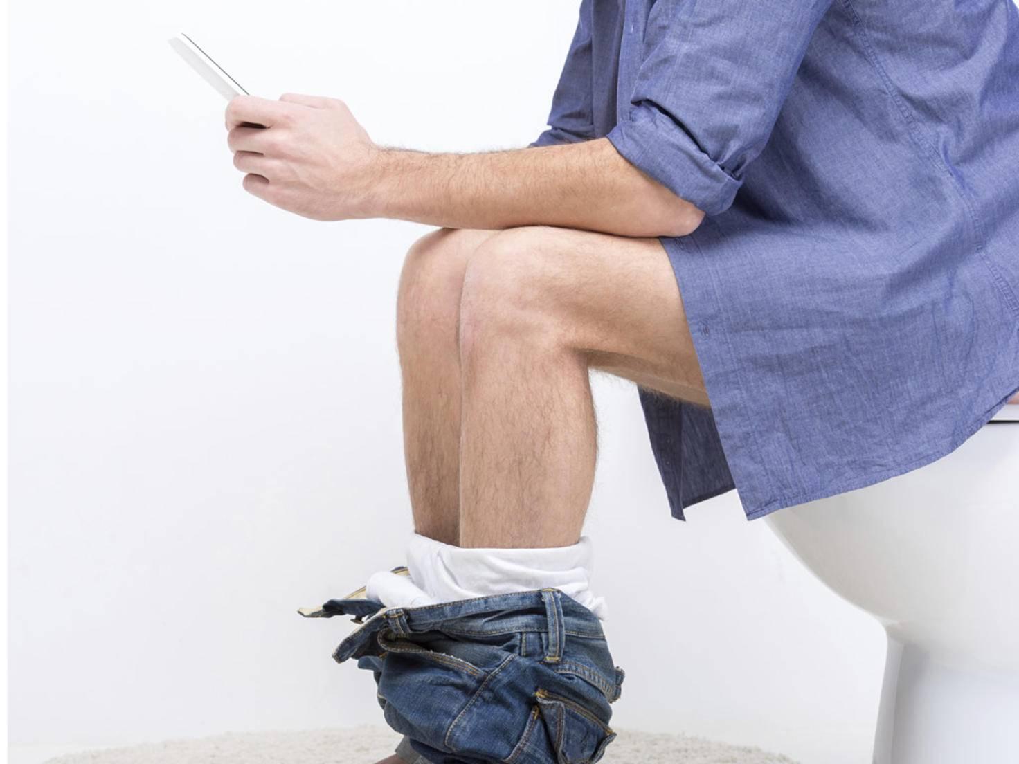Handynutzung WC
