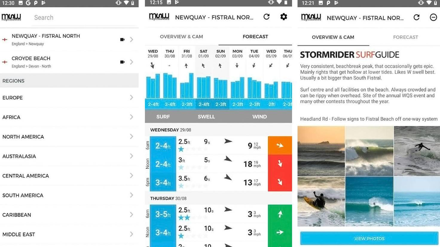 MSW Surf Forecast-Google Play Store-Magicseaweed com