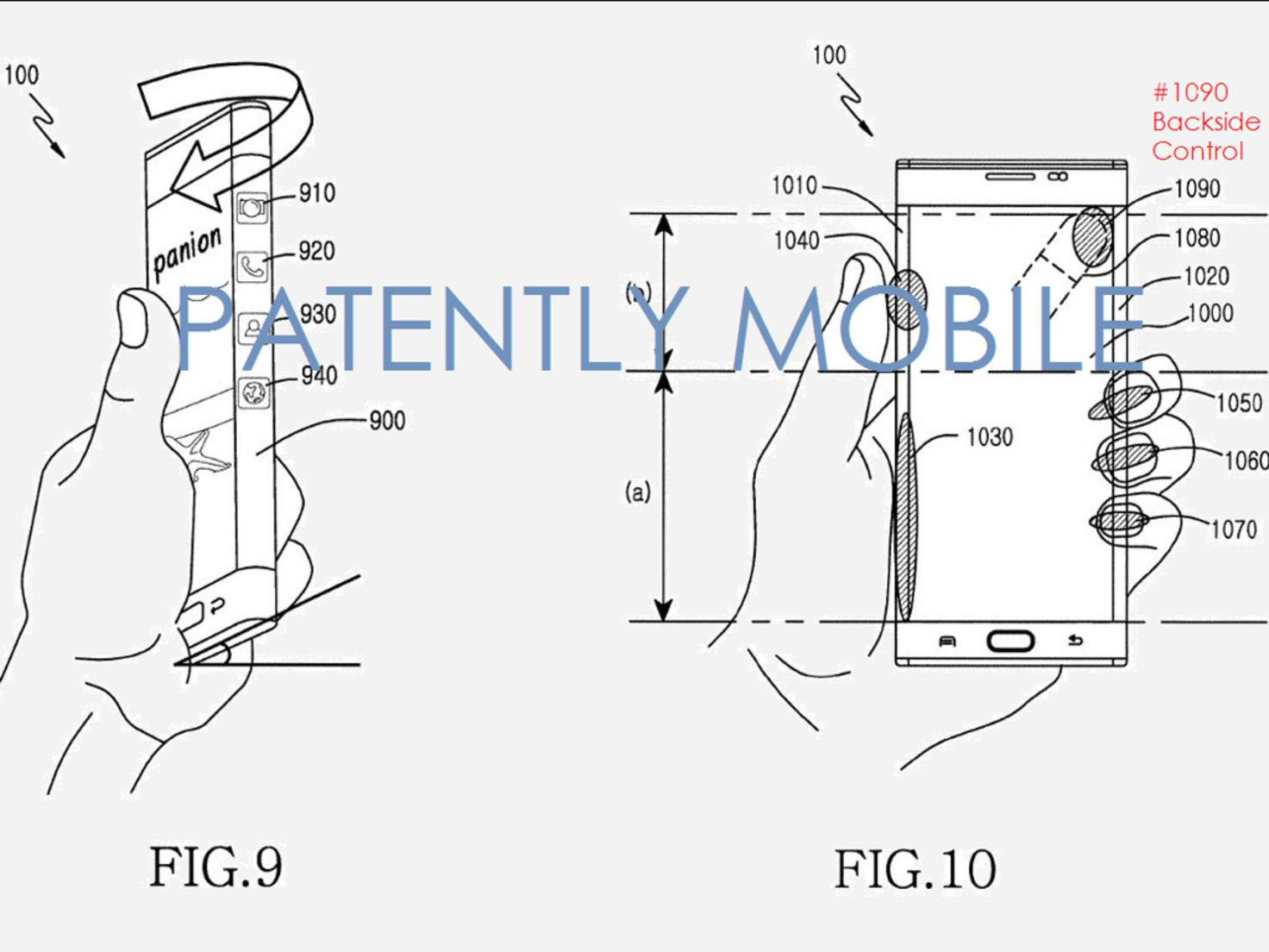 Samsung Patent Touchpanel