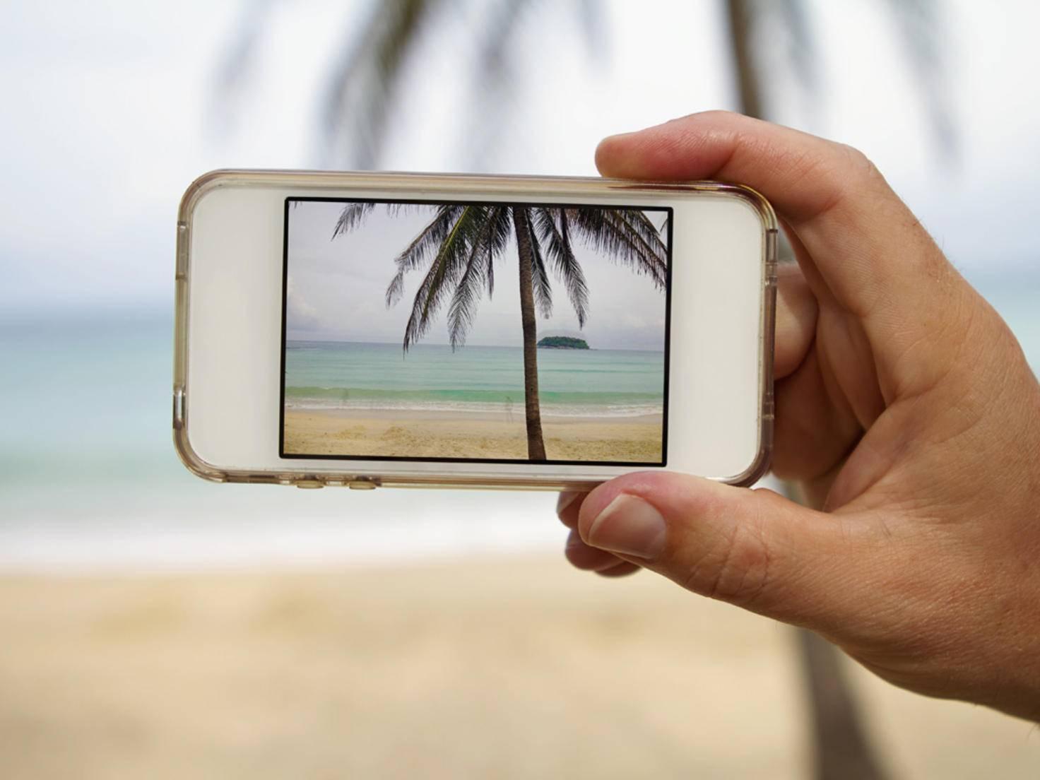 Smartphone Urlaub