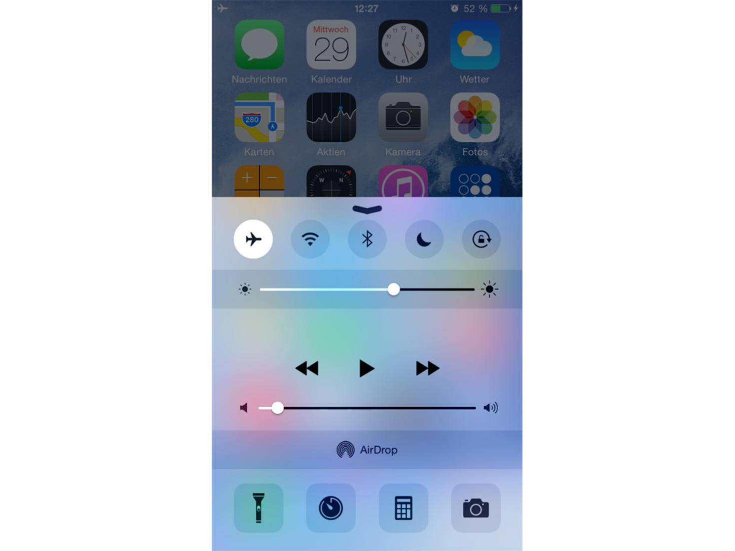 iPhone-6-Flugmodus