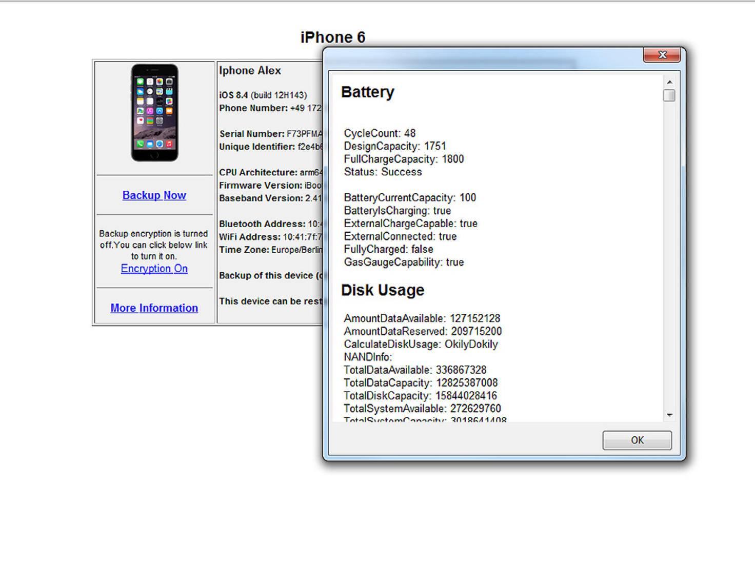 iPhone Akku Ladezyklen