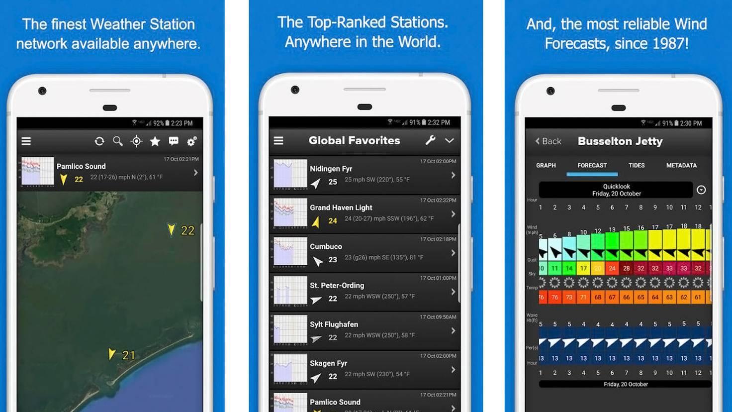 iWindsurf-Google Play Store-WeatherFlow