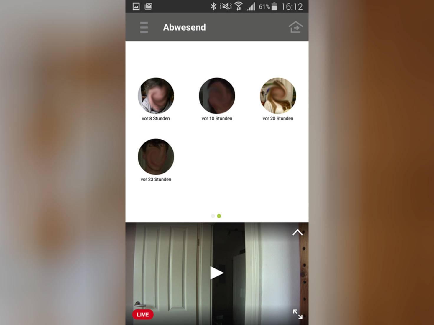 Netatmo Welcome App