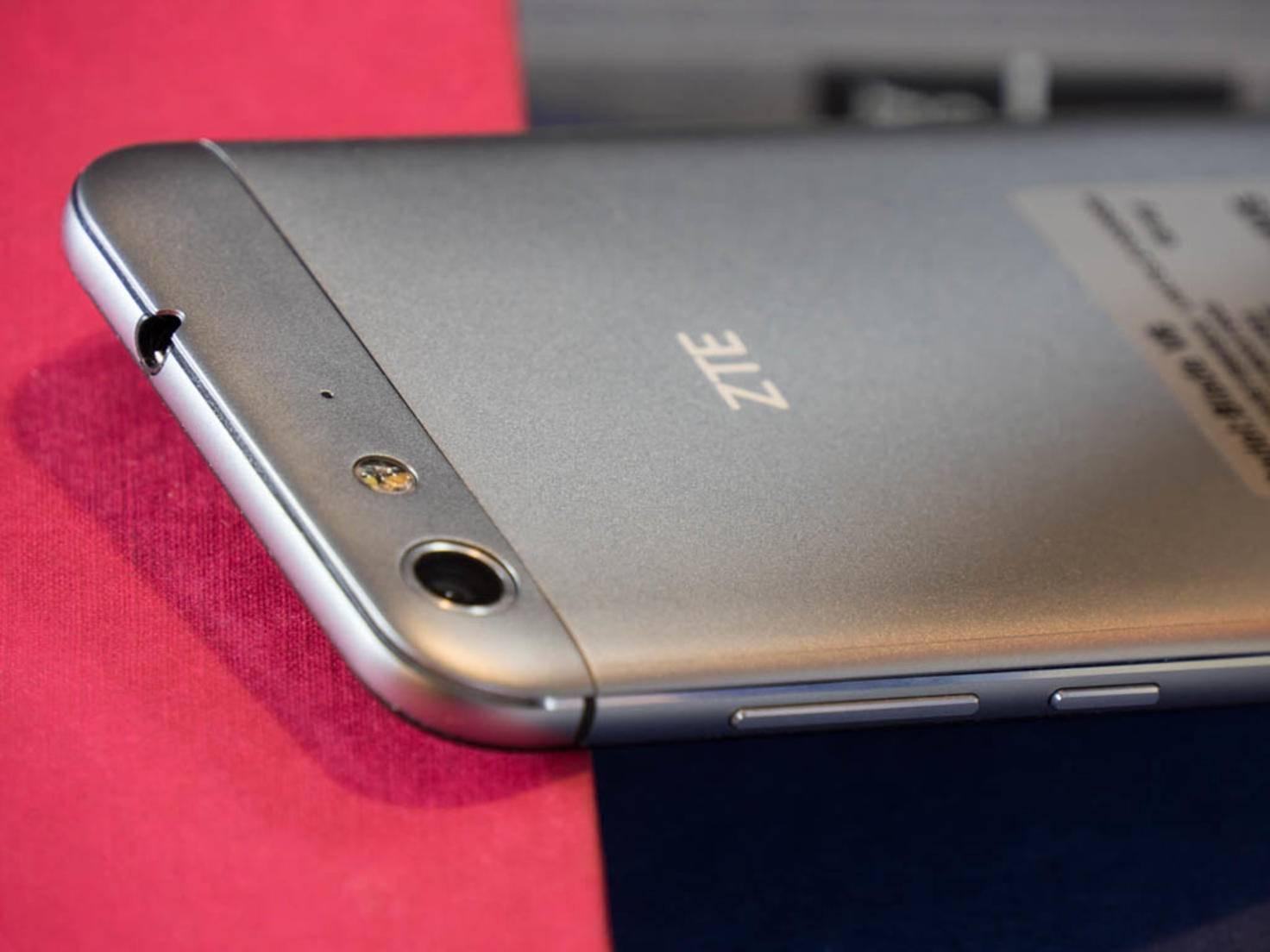 Die Kamera des ZTE Blade V6 erlaubt Bildaufnahmen mit 13 MP Auflösung.