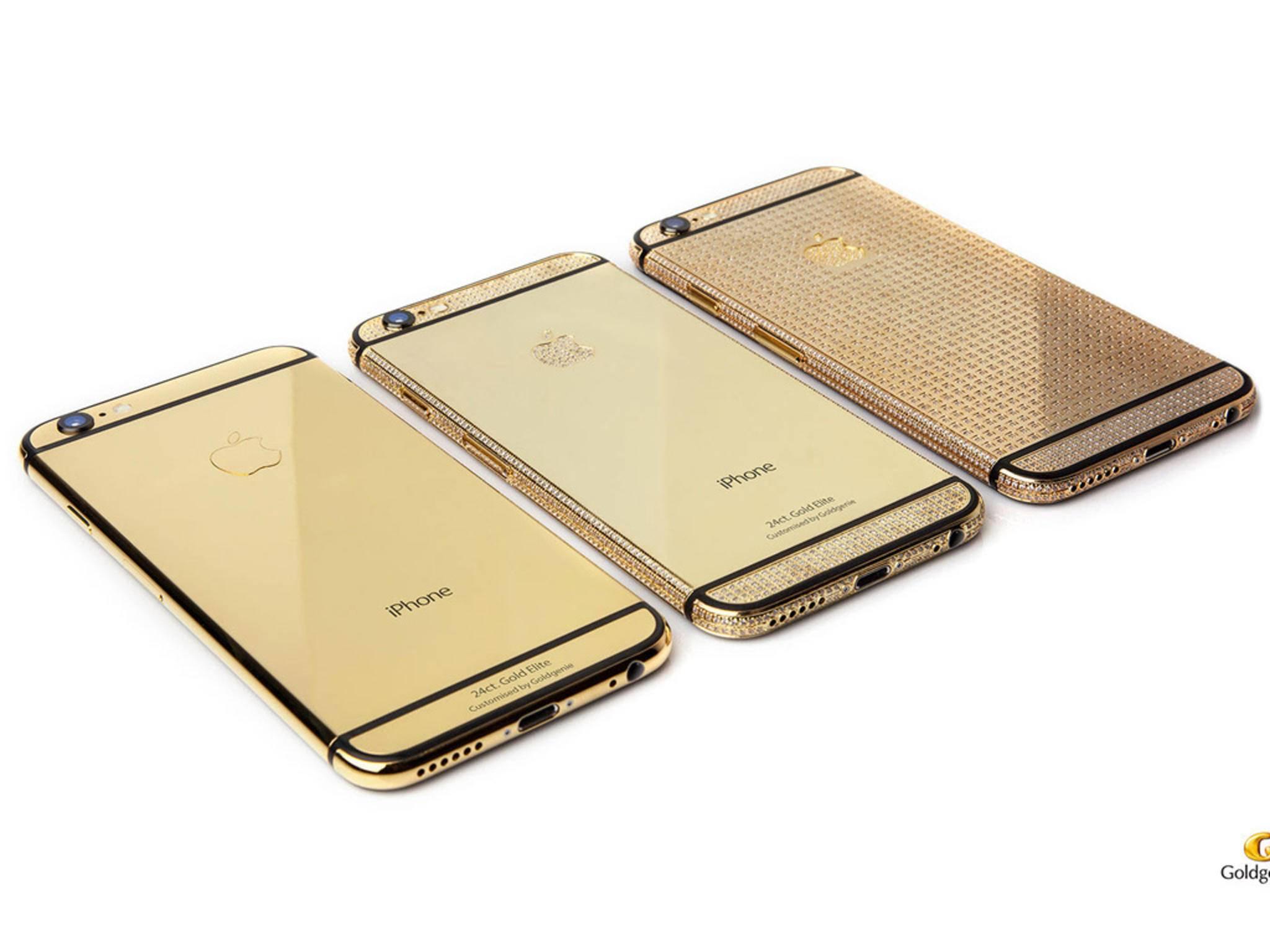Ab Montag können die Luxus-Ausführungen des iPhone 6s vorbestellt werden.