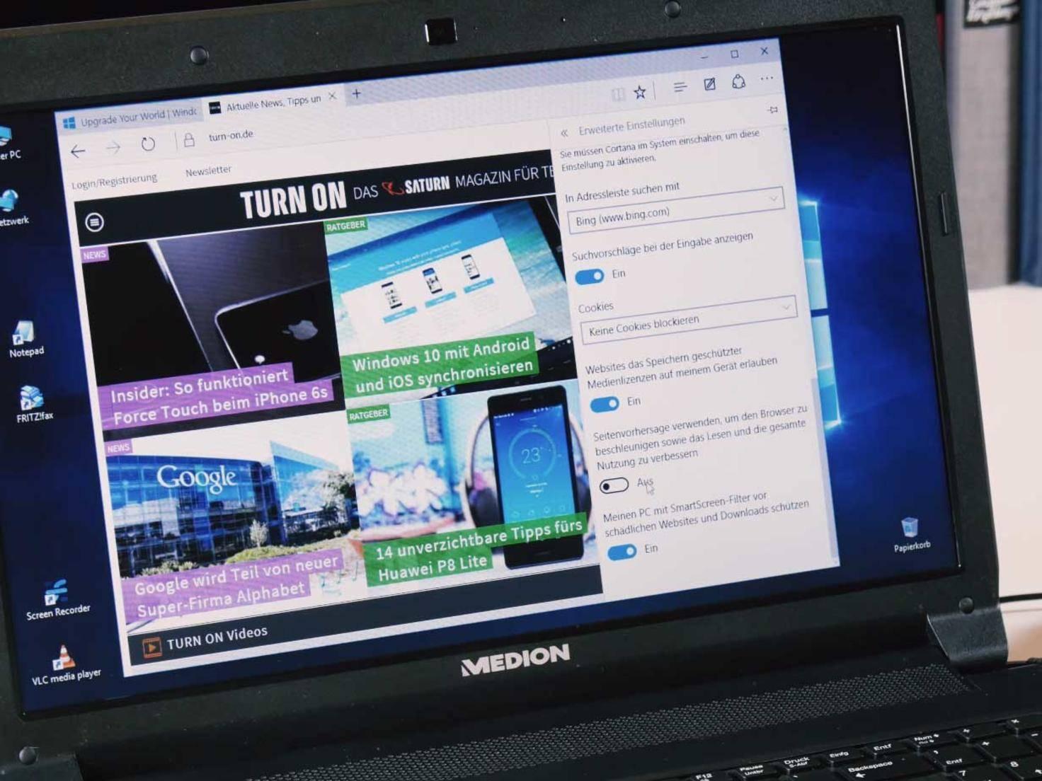 Windows 10 Datenschutz