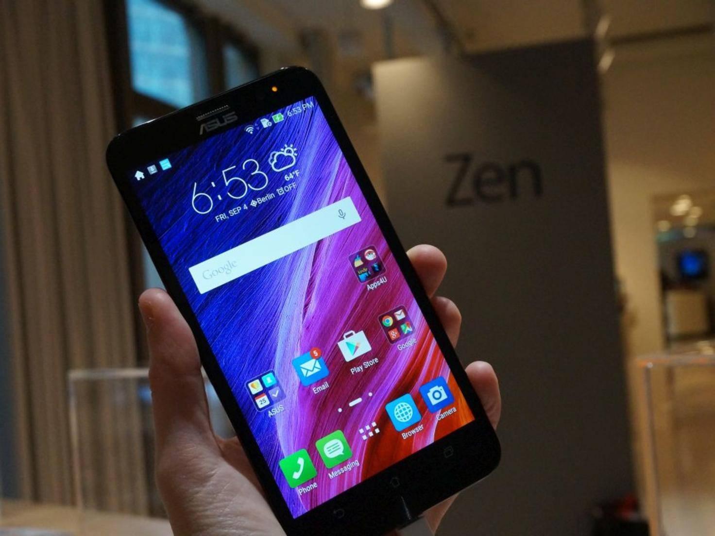 Asus ZenFone 2 Deluxe 1