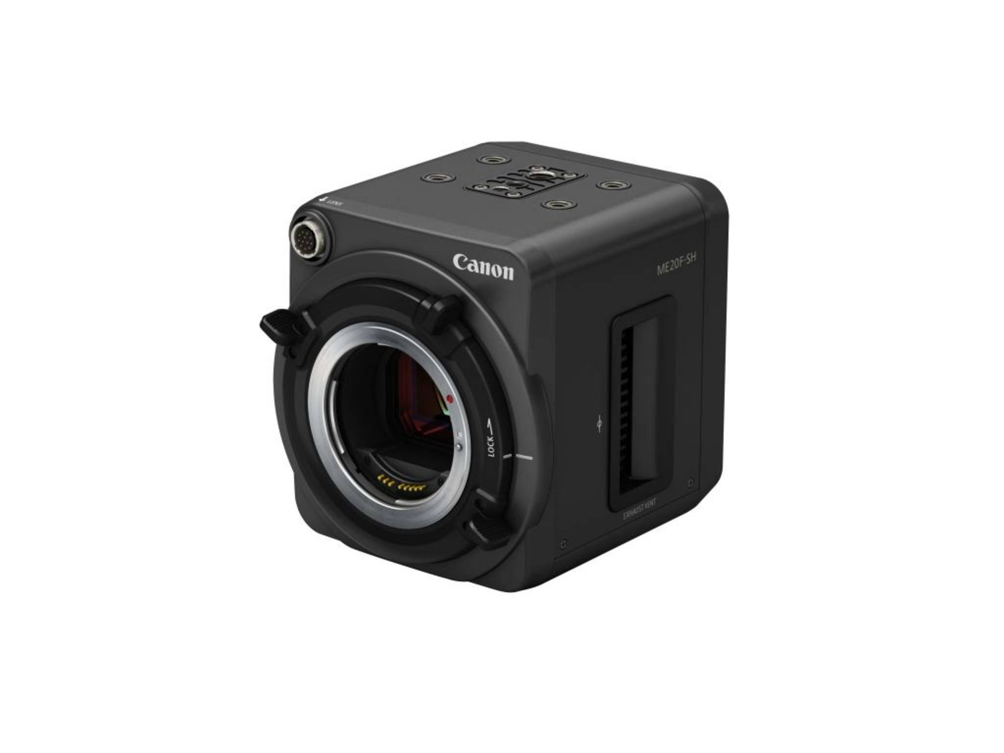Extrem lichtempfindlich und äußerst kompakt: die Canon ME20F-SH.
