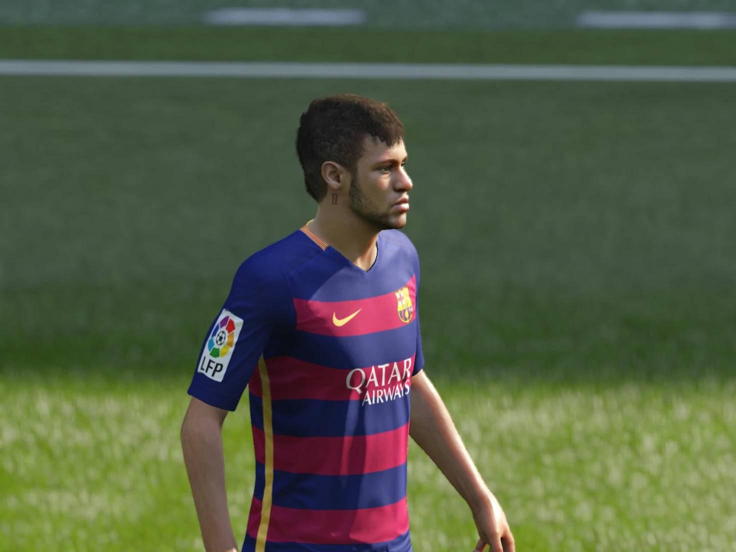 Superstar Neymar sieht nicht zufrieden aus.