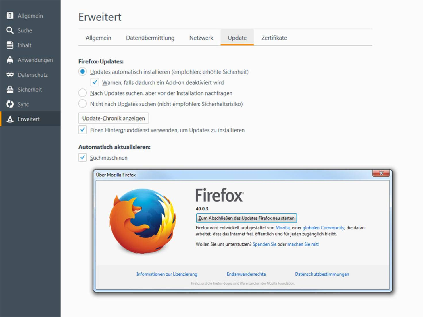Firefox-Update-Browser