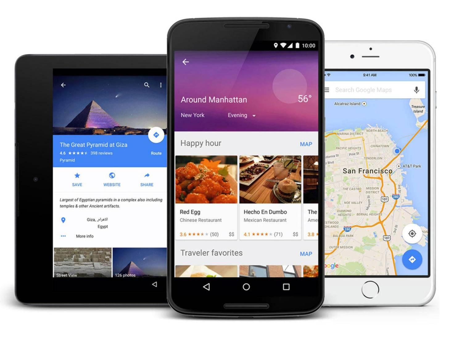 Google-Maps-App