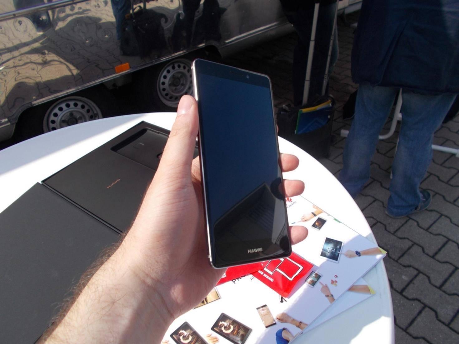 Insgesamt macht das Huawei Mate S einen sehr guten Eindruck.