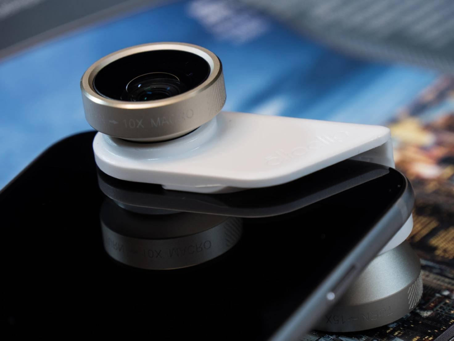 Das getestete Objektiv ist nur mit dem iPhone 6 (Plus) und dem iPhone 6s (Plus) kompatibel.