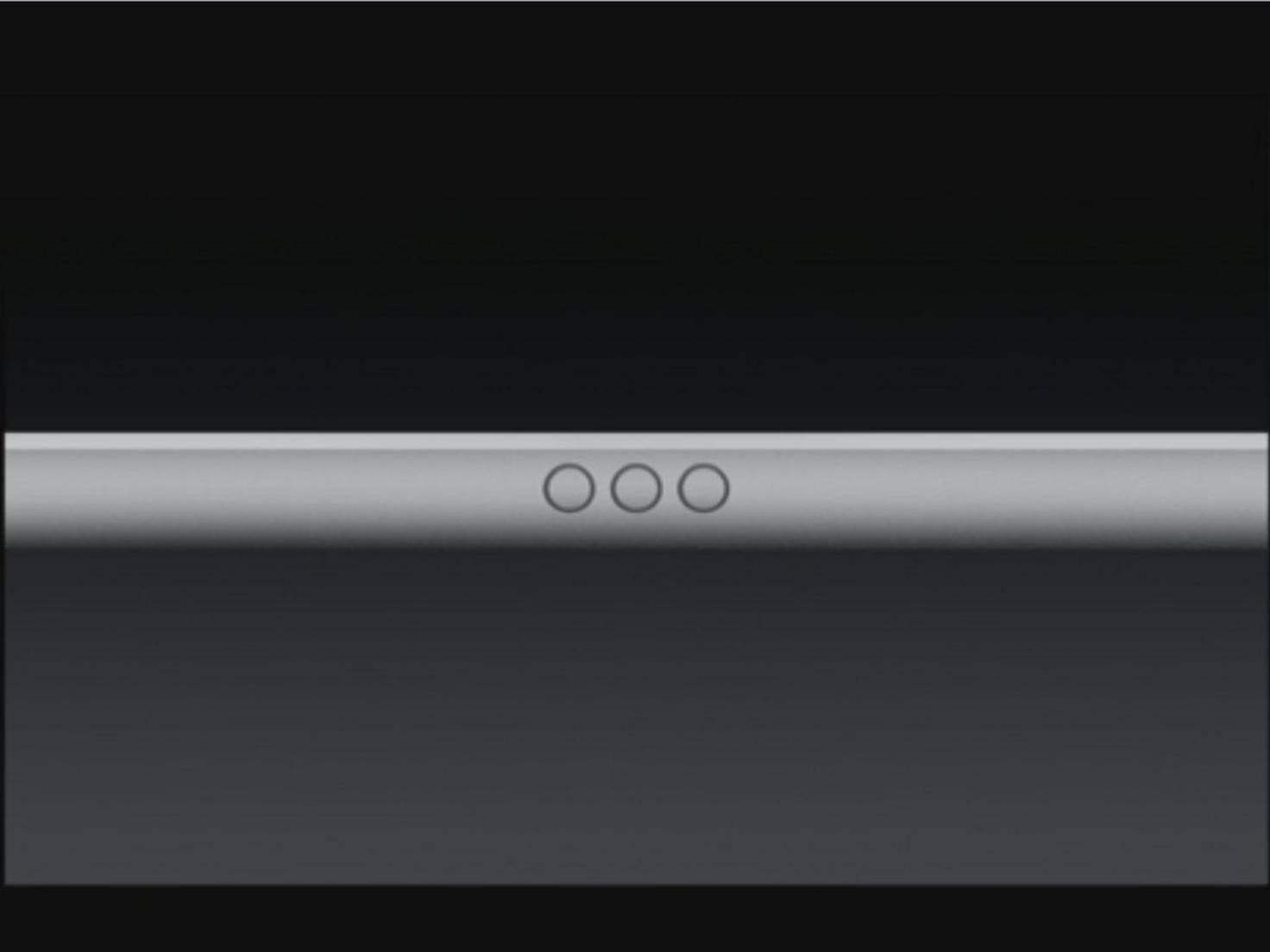 Mit dem Smart Connector lässt sich eine Tastatur an das iPad Pro anschließen.