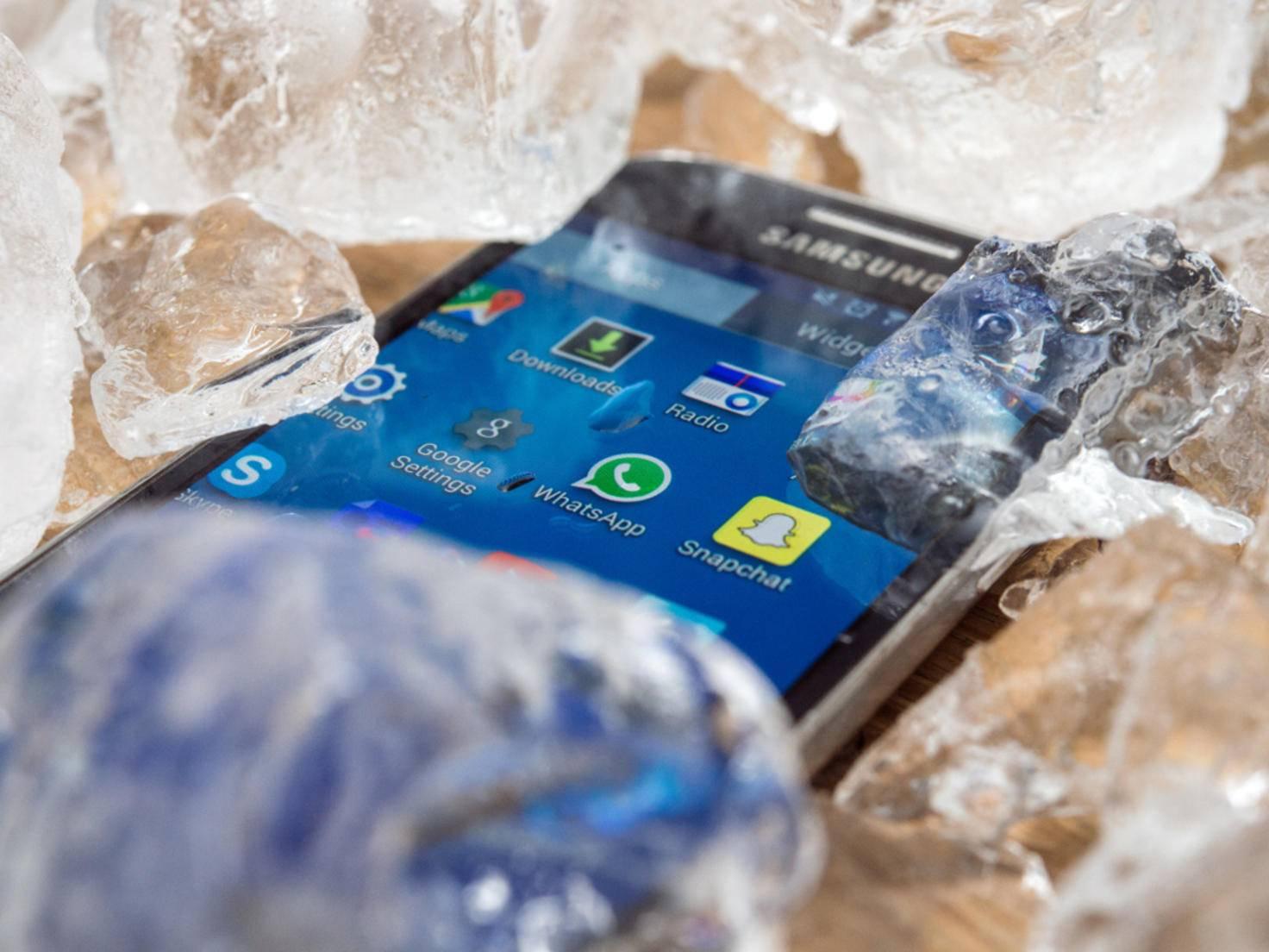 Smartphone_Eiswürfel