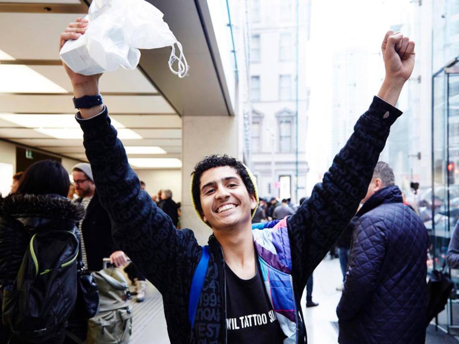 iPhone 6s-Käufer in Sydney