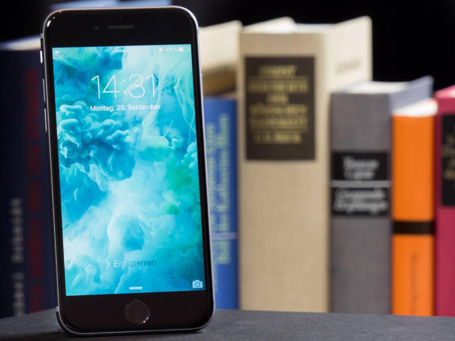 Das Retina-Display des iPhone 6s ist eine Augenweide.
