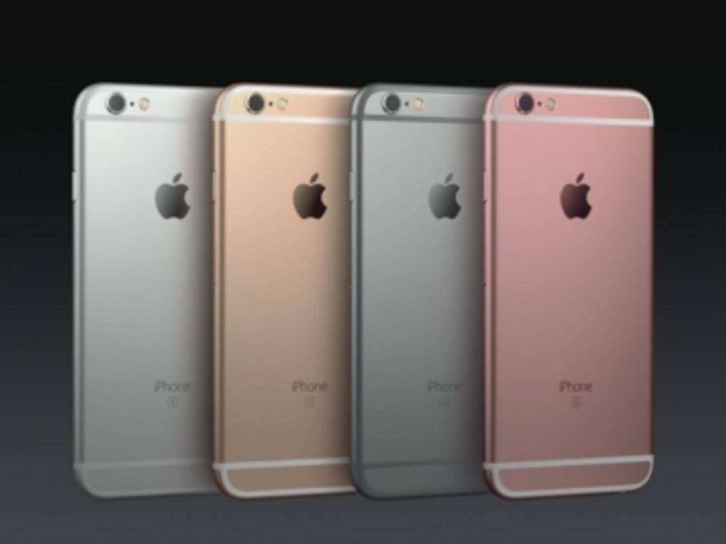 iPhone6s-Farben