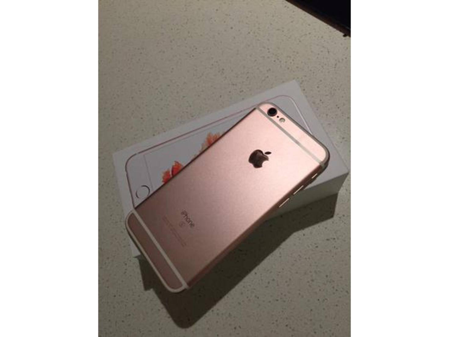 Das neue iPhone 6s von Adrienne Alpern.