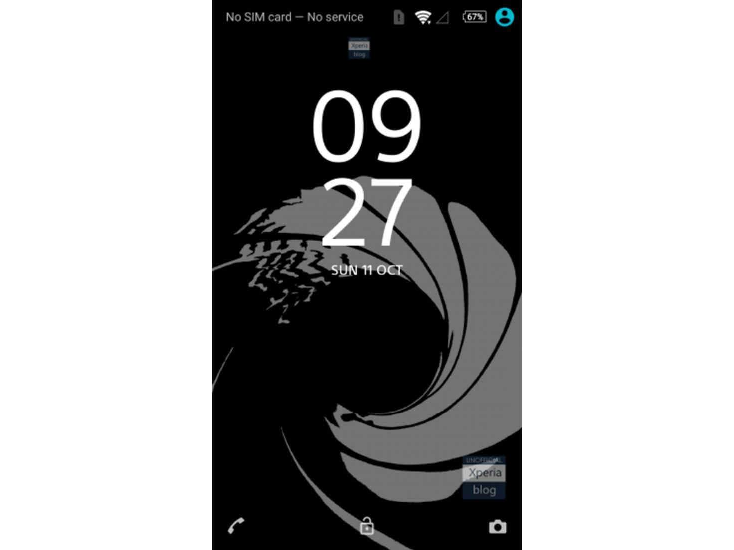 James Bond-Theme fürs Sony Xperia Z5