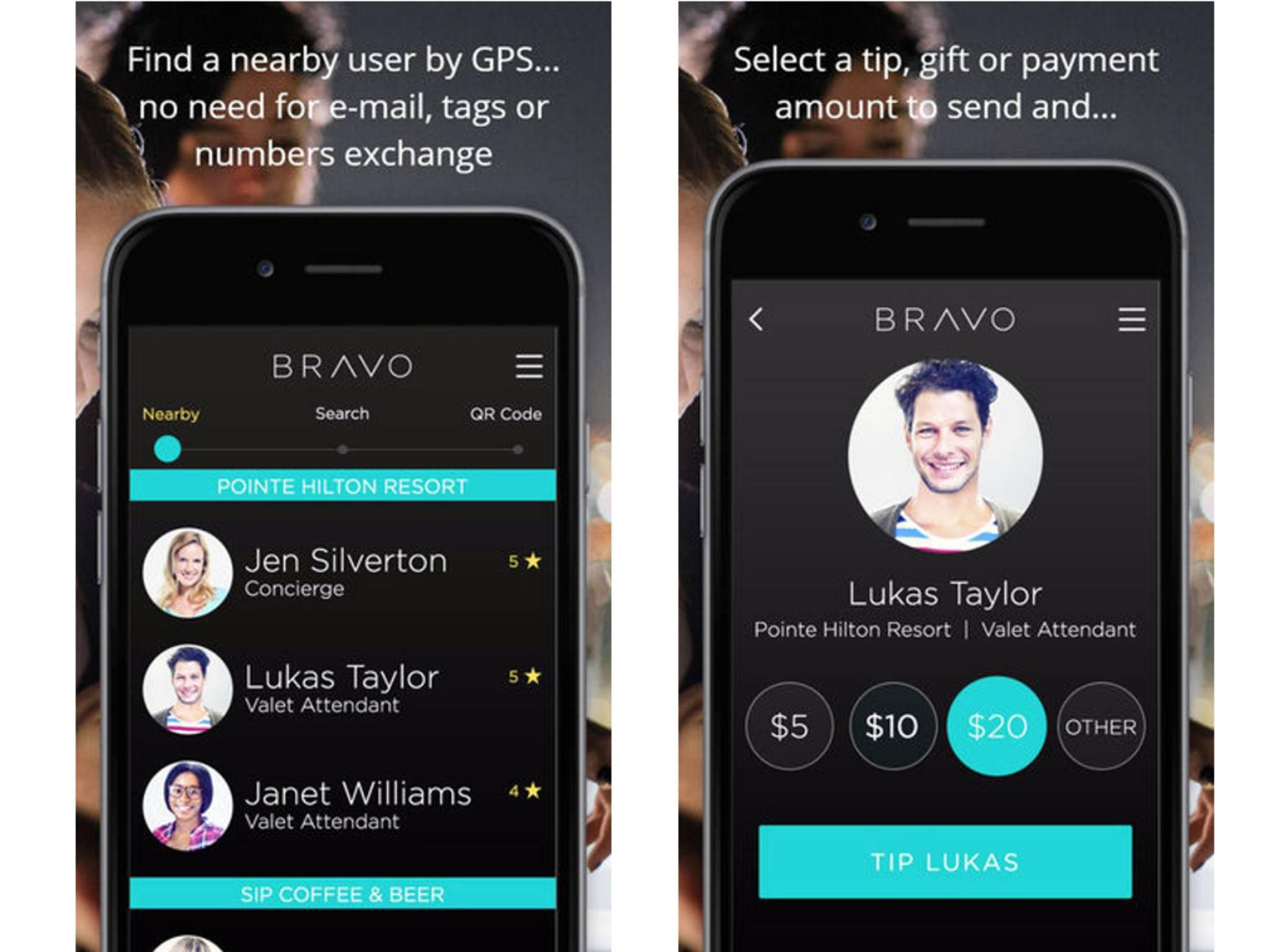 Bravo Tip or Pay