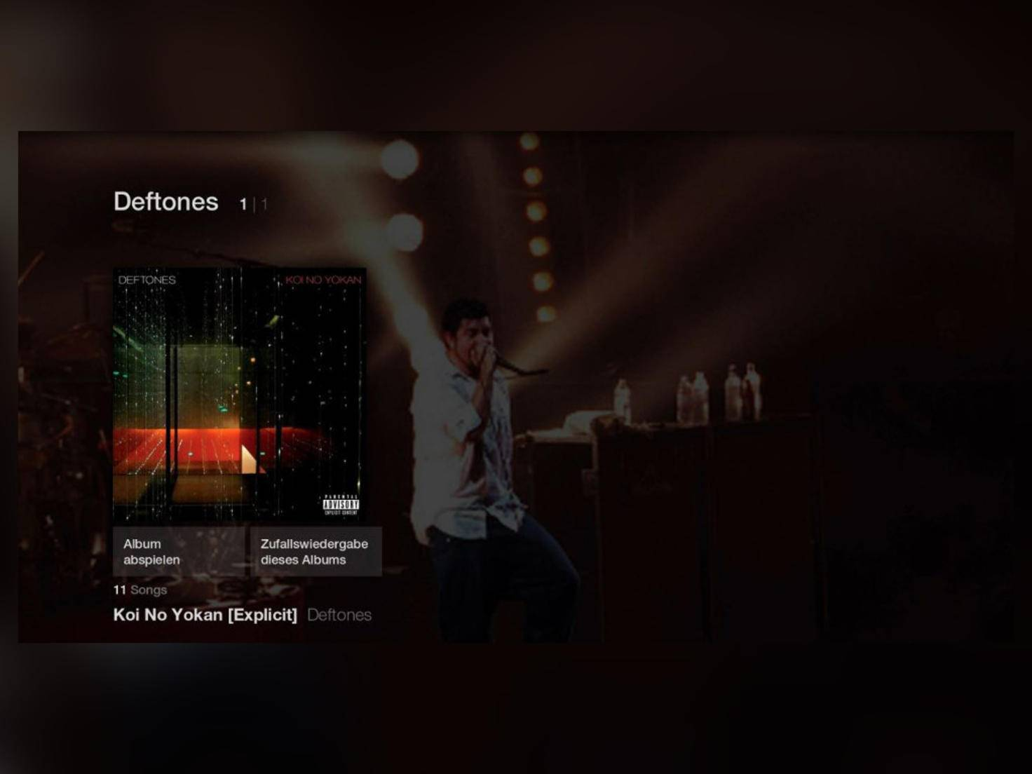 Zusätzlich wird die Amazon-Musikbibliothek mit dem Stick synchronisiert.