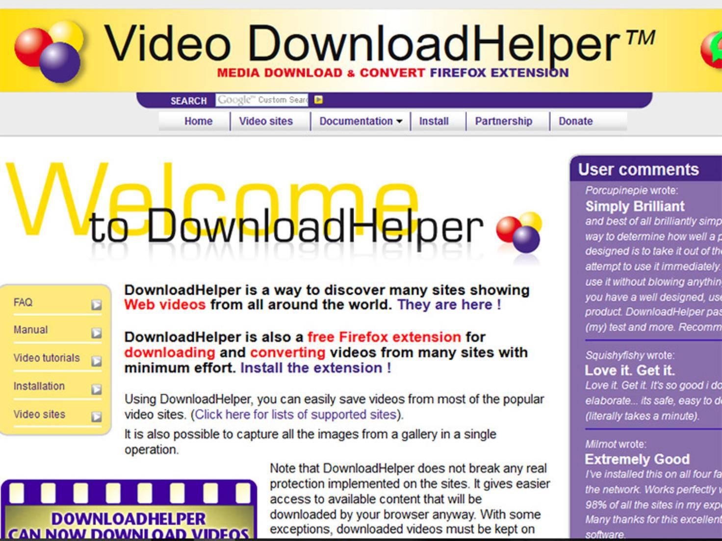 Firefox-Videodownloadhelper