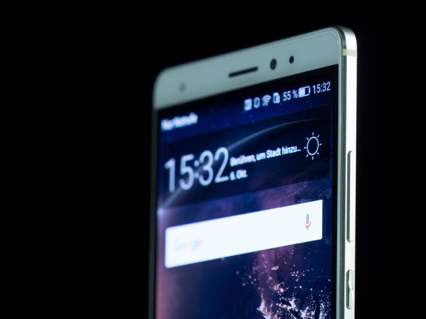 Das Huawei Mate S macht optisch einiges her.